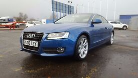 2008-08 audia5 3.0 tdi sport 6 speed manual quattro 2dr stunning car