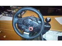 Logitech steering wheel