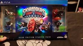 Skylanders Trap Team Dark Edition Starter Pack PS4 MINT UNUSED