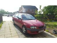 TOYOTA AVENSIS 5DR 1.8L RED ONLY 84000 MILES GRAB A BARGAIN
