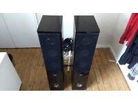 Pair of Passive Tower Speakers