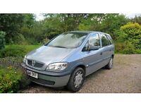 Vauxhall Zafira Life 1.6L, MOT, 7 seats, spares or repair - easy fix