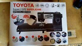 Toyota Super Jeans 15PE Sewing Machine