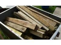 Wood log burner
