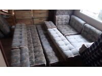 Full set of caravan cushions for caravan, Van conversions ETC