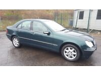 **Automatic** 2003 Mercedes C 180 KOMP Elegance SE A FSH Good Condition....