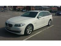 12 REG BMW 530D 5 SERIES TOURING CAR 3.0 WHITE STOPSTART 0 OWNERS MUST SEE