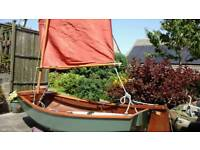 SAILING DINGHY UP TO 2 PERSONS 8FT SKYLARK BY SELWAY FISHER