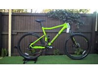 New- VooDoo Minustor 2018 Full Suspensiopn Mountain Bike