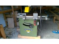 Startrite 400S single phase saw bench. Tilting blade 125mm cut