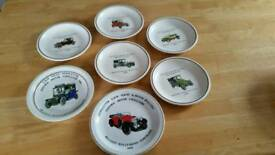 Car collectable plates