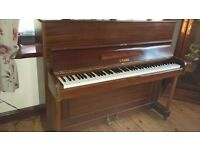 Upright Crane piano, excellent condition, needs tuning. Collection only.