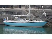 ELIZABETHAN 31 ft 6 Berth go anywhere sailing cruiser £11950 beautiful