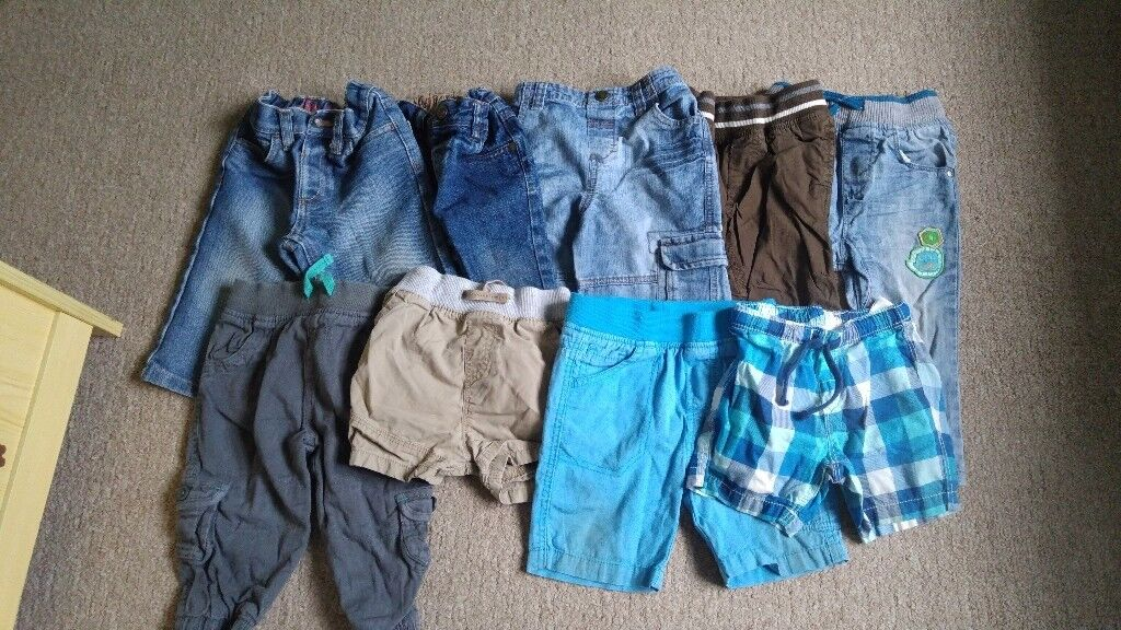 9-12 month trousers and shorts