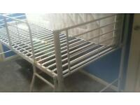 Mid sleeper bed with mattress