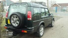 Land Rover Discovery 2 TD5 7 seat automatic