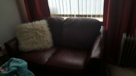 2 xs red sofas