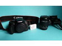 Canon EOS 700D 18.0MP Digital SLR Camera - Black (Kit w/ EF-S 18-55mm IS STM Lens)