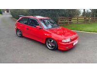 Vauxhall, ASTRA, Hatchback, 1991, Manual, 1998 (cc), 3 doors