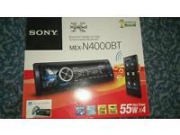Sony MEX N-4000BT BLUETOOTH CAR STEREO