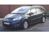CITROEN C4 GRAND PICASSO 2008, 7 seater diesel automatic