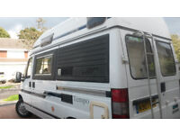 Holdsworth Tempo, 2 berth, kitchen,toilet,fridge, gas hob and oven, gas air heater and water heater