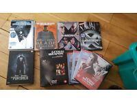 5 dvds + 4 dvd box set