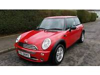 ONLY £2295 ,2005 MINI,BRIGHT RED MINT CAR,mx5,clio,corsa,yaris,polo,golf,bmw,207,fiat 500,beetel,