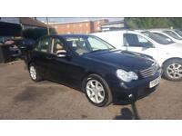 2006/06 MERCEDES C180k AUTOMATIC 2 OWNERS YEARS MOT