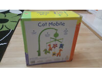 baby cot mobile in box