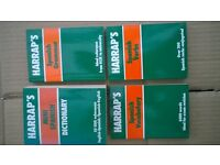 Harrap's Spanish books.