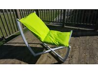 Four x Hammock Relaxer Chair Green (Out of season Bargain) The lot £60