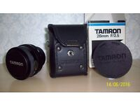Tamron wide angle lens