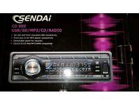 Sendai Car radio/cd/usb/mp3/aux/wma