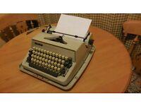 Collectors Item; Adler Gabriele 25 Portable Typewriter