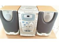 Alba cd, tape, radio hifi with separate speakers