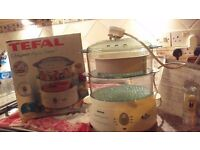 Feel like healhy cooking? Tefal 615717P 2-Tier Aqua Timer Steamer in its original box