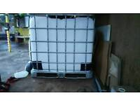Ibc water tanks 1000 liter