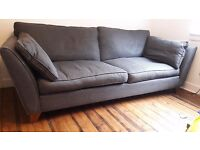 Three seater Marks and Spencer sofa