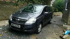 Vauxhall zafira 1.6 12 month mot full service new clutch