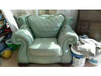 arm chair and sofa