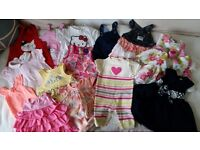 Baby Girl Dresses Clothes Bundle - 3-6 months and 6-9 months
