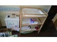 IKEA GULIVER pine changing table