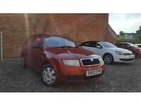 2002 Skoda Fabia 1.4 Classic 8v Long MOT Ideal First Car Corsa Golf Polo 206 5 Door Hatchback Cheap