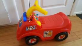 Mickey Mouse baby taxi