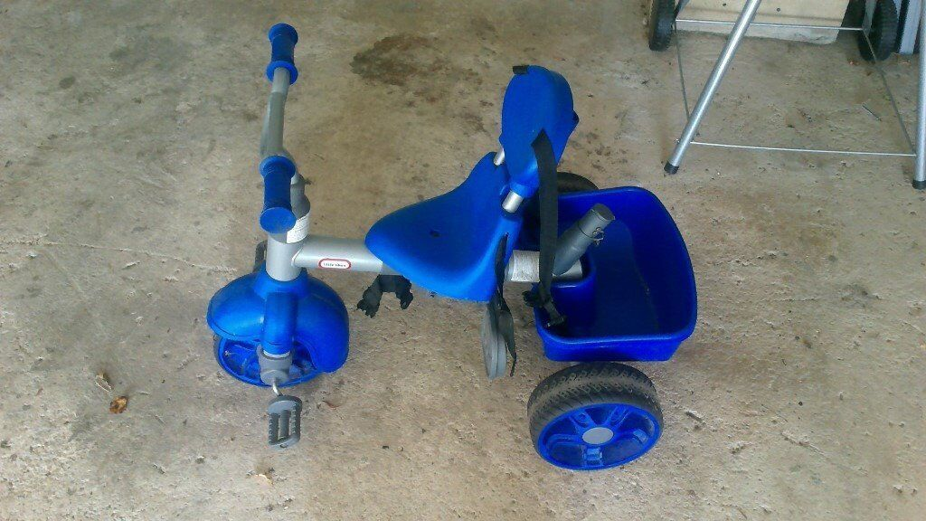 Little Tikes 4 in 1 Tricycle in Blue