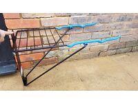 Wall mounted, folding Bike rack Holder