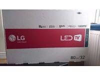 """32"""" LG LED TV unopened"""