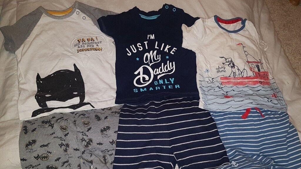 8d49757ba Bundle of boys summer clothes 9-12 months