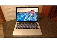 Apple MacBook Pro 13ins. Core i7, 16gb RAM. Pristine Condition.